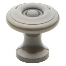 Antique Nickel Colonial Knob