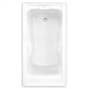 Evolution 60x32 inch Deep Soak Integral Apron Bathtub - Arctic