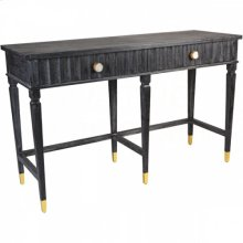 Evangeline Black Medium Console