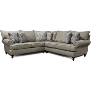 England FurnitureRosalie Sectional 4Y00-Sect
