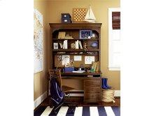 Desk Hutch - Saddle Brown