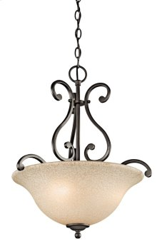 Camerena 3 Light Inverted Pendant Olde Bronze®