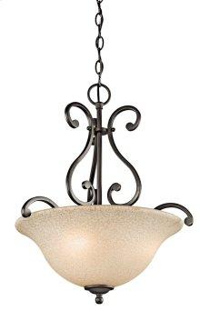 Camerena 3 Light Inverted Pendant Olde Bronze®