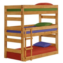 Twin Stackable Triple Bunk Bed