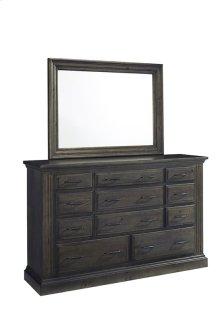 Dresser \u0026 Mirror - Ash Finish