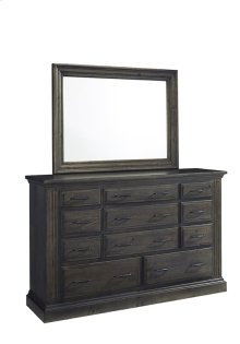Dresser \u0026 Mirror - Ash Finish