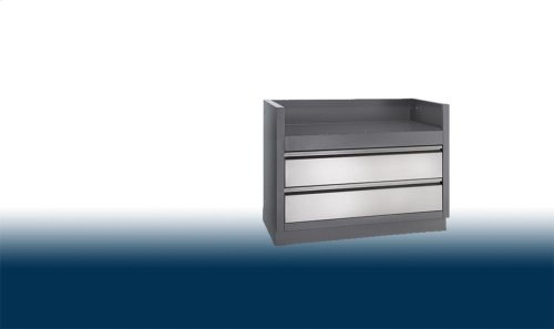 OASIS Under Grill Cabinet for Built-In LEX 730 Gas Grill Head