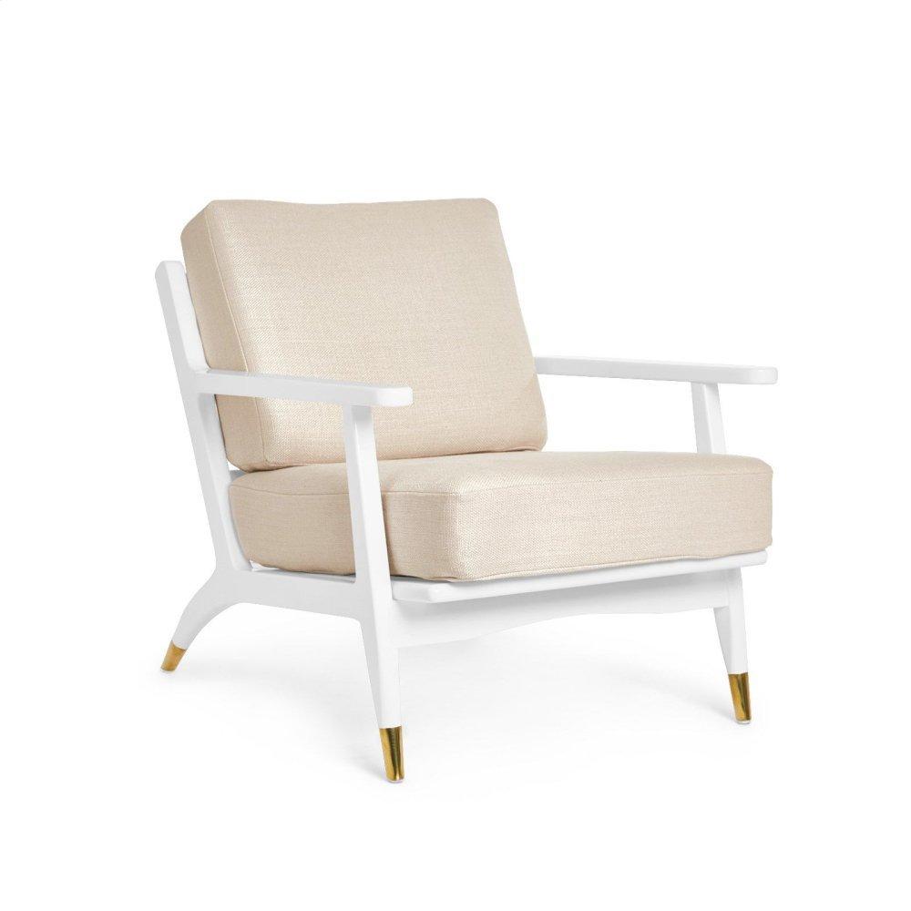Hart Lounge Chair Cushion Cover, Natural