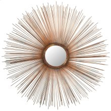 Sunburst Mirror - Burnt Copper W / Clear P / Coat