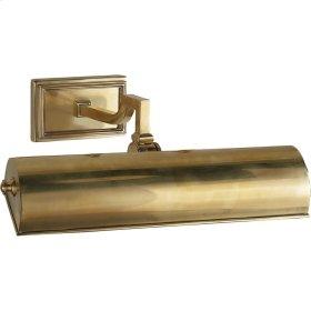 Visual Comfort AH2701NB Alexa Hampton Dean 40 watt 14 inch Natural Brass Picture Light Wall Light