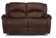 Pure Comfort Fabric Power Reclining Loveseat
