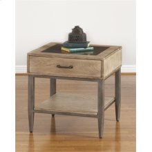 T312-124  Square End Table