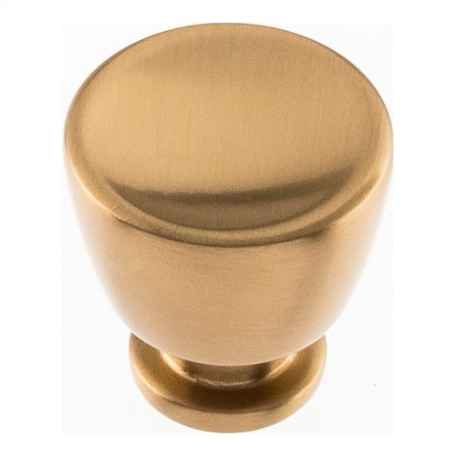 Conga Knob 1 1/8 inch - Warm Brass