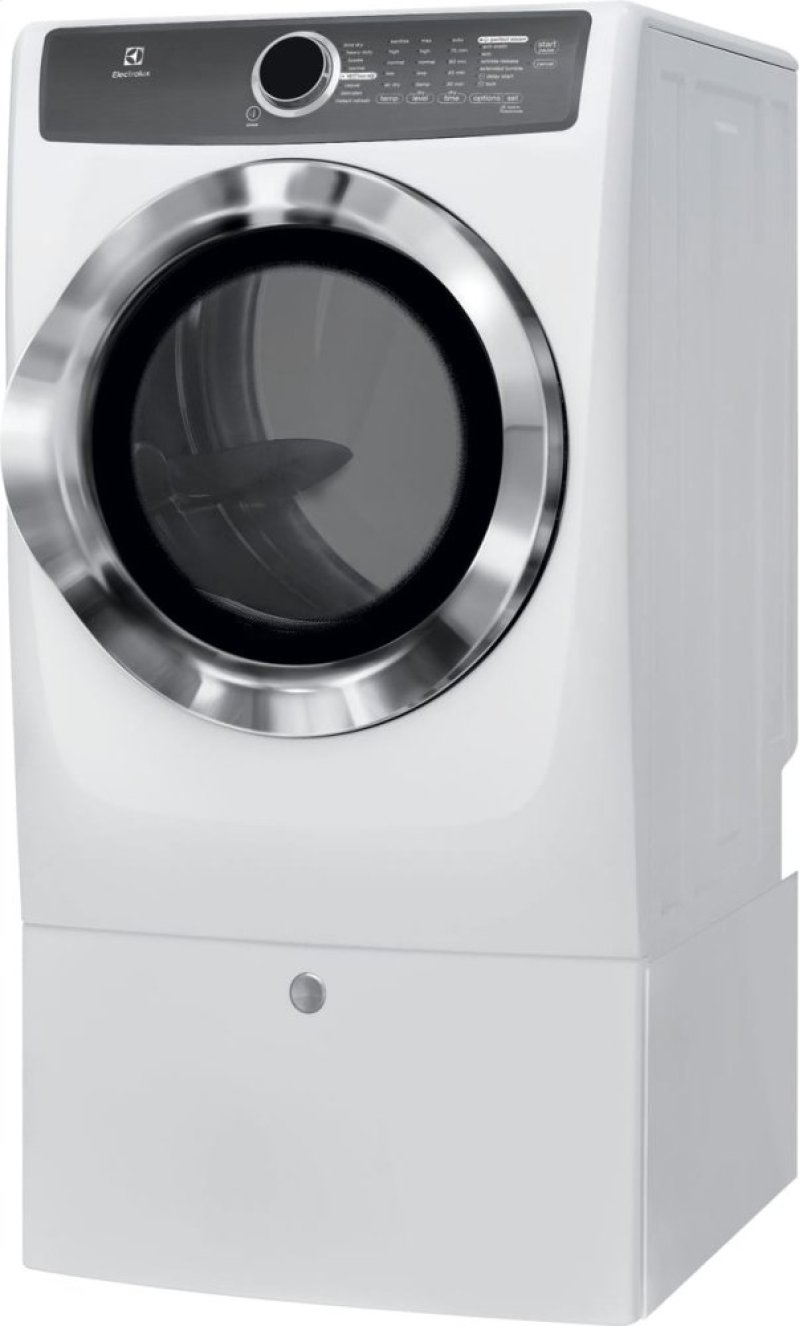 Hidden Additional Front Load Perfect Steam Gas Dryer With Instant Refresh And 8 Cycles 0 Cu
