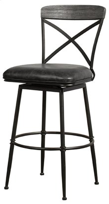 Decker Commercial Grade Swivel Counter Stool