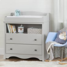 Changing Table - Soft Gray