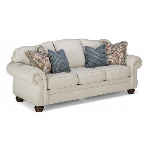 Bexley One-Tone Fabric Sofa without Nailhead Trim
