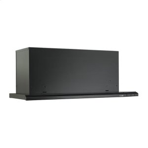 """Broan 36"""" 300 Cfm Black Slide Out Range Hood"""