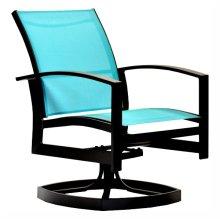 23349 2-Piece Swivel Dining Chair