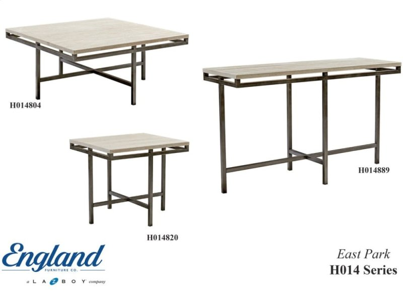 H In By England Furniture In Newberry SC East Park Tables H - East park coffee table