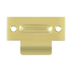 """T-Strike For RCA430, 2-3/4"""" X 1-3/4"""" - Polished Brass"""