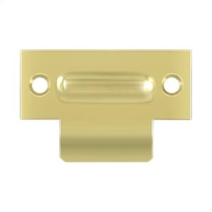 "T-Strike For RCA430, 2-3/4"" X 1-3/4"" - Polished Brass"