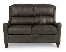 Lukas Leather or Fabric Loveseat