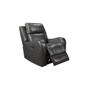 Leather Italia Usa Eh71317 Cortana Pwr Chair Pwr Hdrst 177066lv Grey
