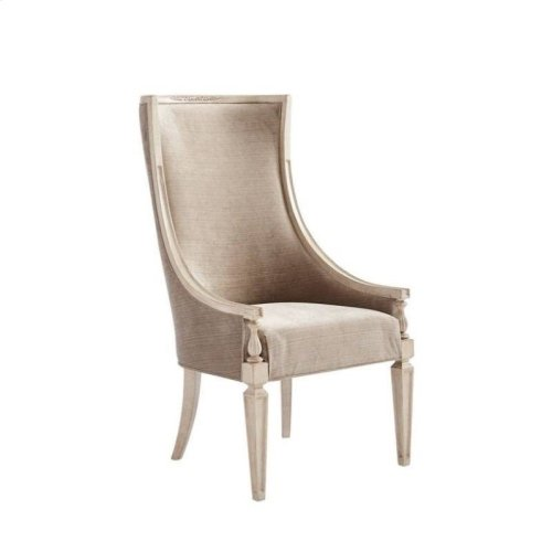 Villa Couture Matteo Host Chair in Glaze