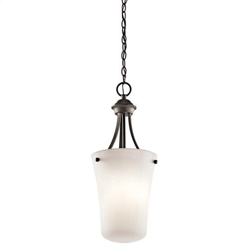 "Keiran 10.5"" 1 light Foyer Pendant with LED Bulb Olde Bronze®"