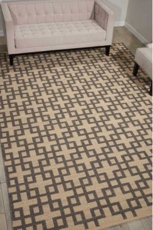 Maze Maz01 Dove Rectangle Rug 3'6'' X 5'6''