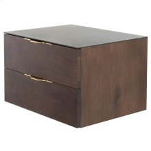 Drift Side Table  Smoked