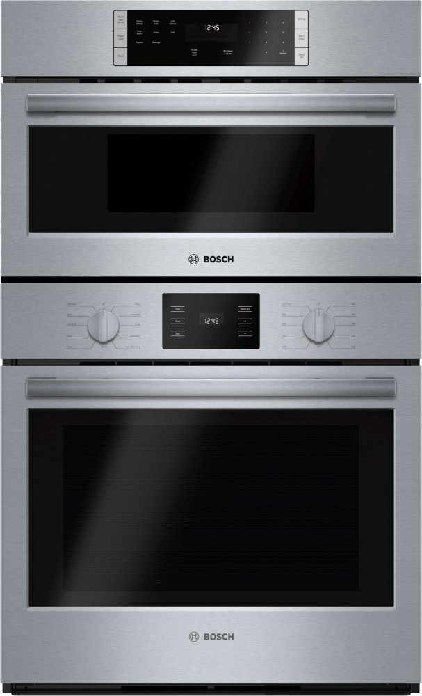 "500 Series, 30"" Combo, Upper: Microwave, Lower: EU Conv, Knob Control