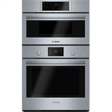 "500 Series, 30"" Combo, Upper: Microwave, Lower: EU Conv, Knob Control"
