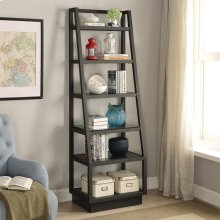 Kali - Bookcase Pier - Textured Black Finish