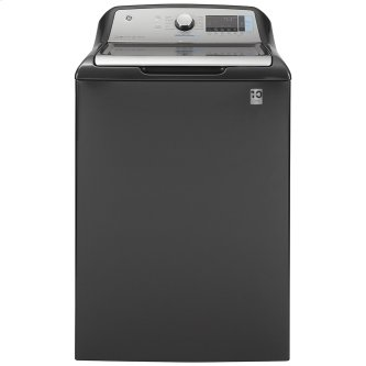 GE™ 6.0 cu. ft. (IEC) Capacity Washer with SmartDispense Diamond Grey - GTW840CPNDG