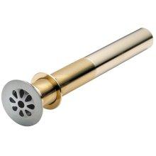 Teardrop Grid Strainer Drain - Antique Brass
