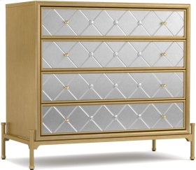 Harlequin Four-Drawer Accent Chest