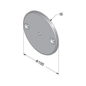 Wall Mounting Plate for Type B