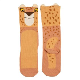 Cheetah Knee Socks Fits 0-24 Months.