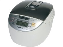 Microcomputer Controlled Fuzzy Logic® Rice Cooker