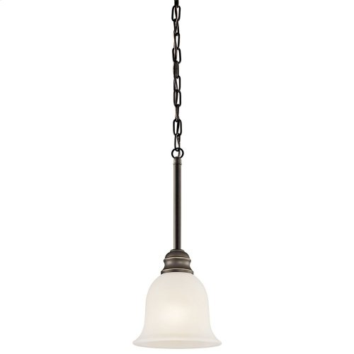 "Tanglewood 6.25"" 1 Light Mini Pendant Olde Bronze®"