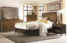Kateri Curved Panel Storage Bed Queen