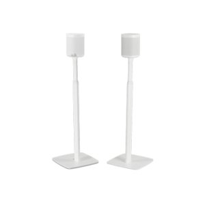 SonosWhite- Flexson Adjustable Floor Stand (Pair)