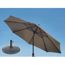 9.0' Umbrella, 9' & 11' Umbrella Extension Pole, Sun Beam Umbrella Base