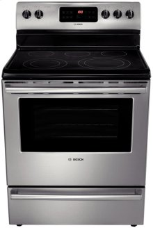 "30"" Electric Freestanding Range 500 Series - Stainless Steel"