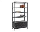 Norwood Bookcase - Black Product Image