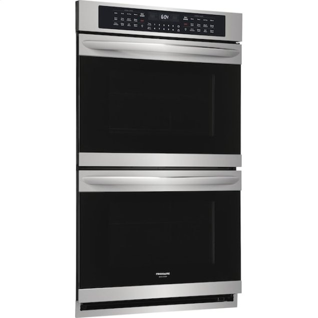 Frigidaire  Gallery 30'' Double Electric Wall Oven with Air Fry