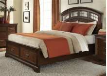 Queen Storage Bed Set