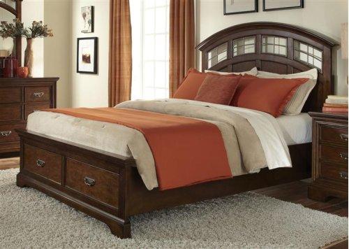 Queen Storage Bed Set
